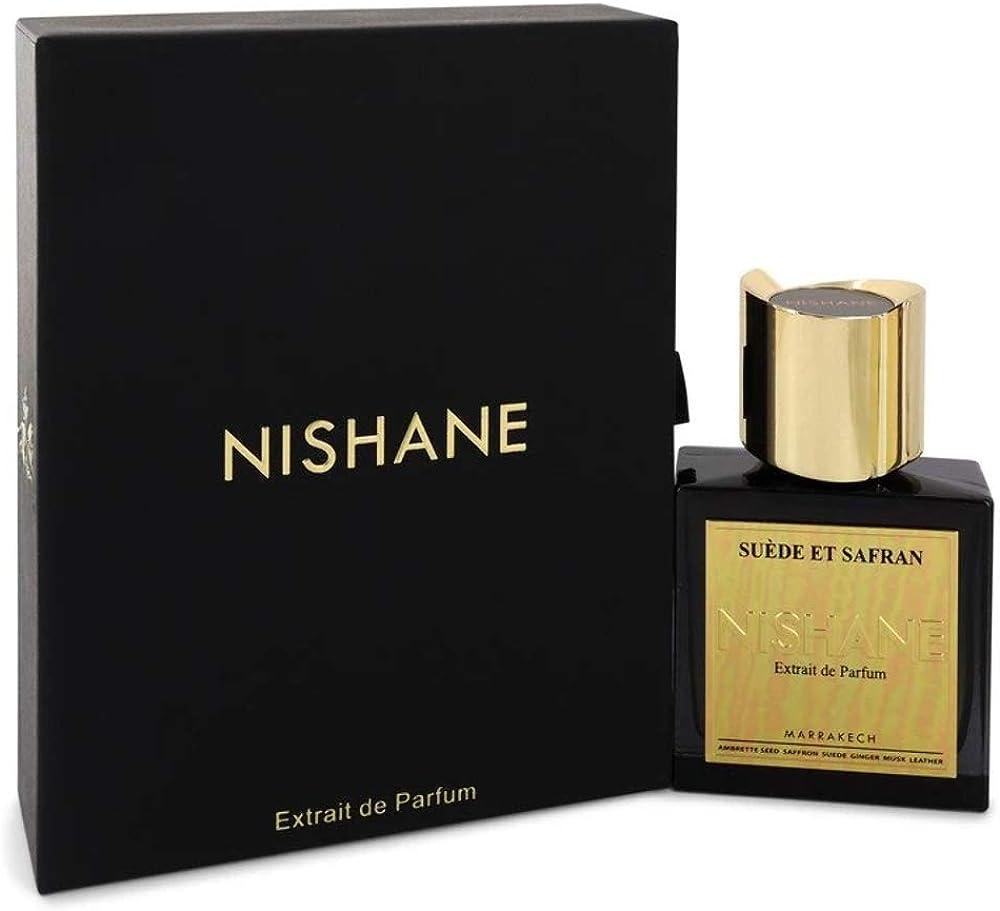 Nishane istanbul suede et safran, profumo unisex,250 ml 8681008055531