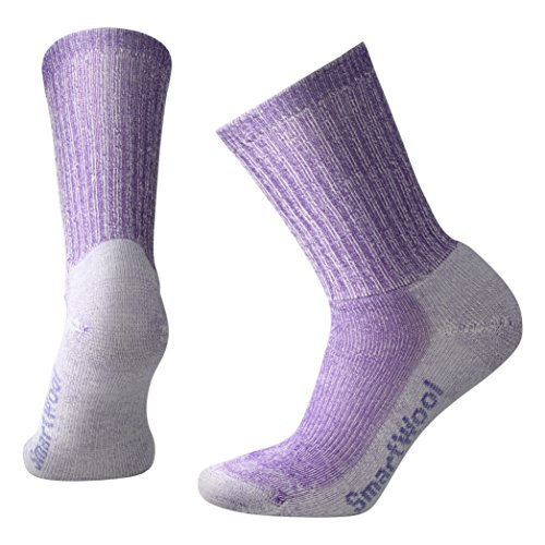 Smartwool Damen Socken Strümpfe Women's Hike Light Crew, Violett (Grape), 38-41 (M)