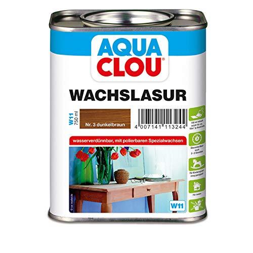 Wachslasur W11 dunkelbraun 0,750 L