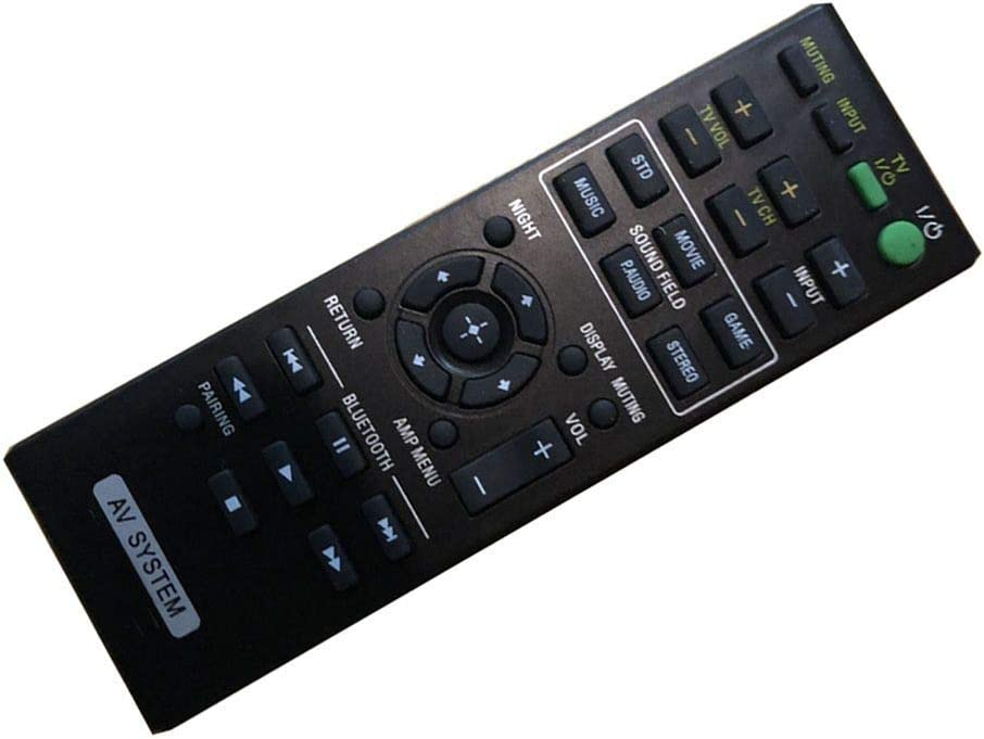 lowest price 4EVER Replacment Remote Control Compatible for Sony Oklahoma City Mall HT- HT-CT770