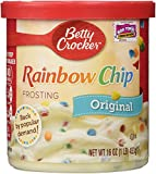 Betty Crocker Rich & Creamy - Rainbow Chip Frosting (453g) -