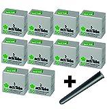 actiTube - Juego de filtros de carbón activo Slim Kogu, 7,1 mm, incluye un saverette, 10x50 (500)