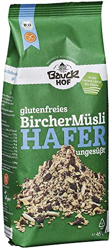 Bauckhof Bio Bauck Bio Glutenfreies Hafermüsli, Bircher (2 x 450 gr)