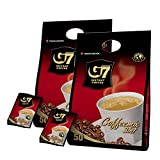 Trung Nguyen - G7 3 In 1 Instant Coffee - 50 Sachets (2 Pack - 100 sachets) | Roasted Ground Coffee...