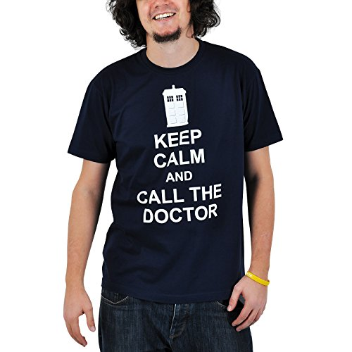 Doctor Who - Camiseta - Call the doctor...