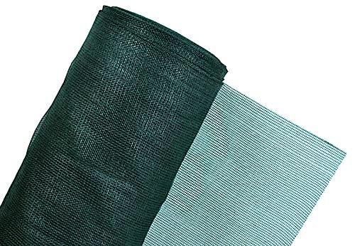 Haga Maulwurfnetz - Maulwurfschutz - gegen Maulwurfshügel - Rasenschutz für den Garten - inkl. 100 Erdanker - 300m²