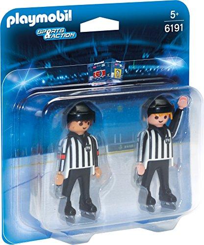 PLAYMOBIL - Árbitros de Hockey sobre Hielo (61910)