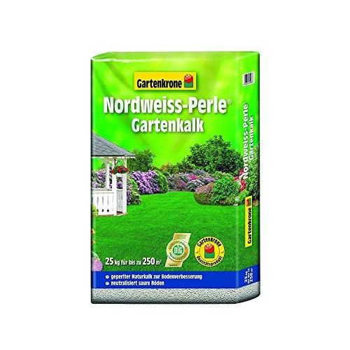 Gartenkalk Original Nord-Weiss Perle 25 Kg Gartenkrone