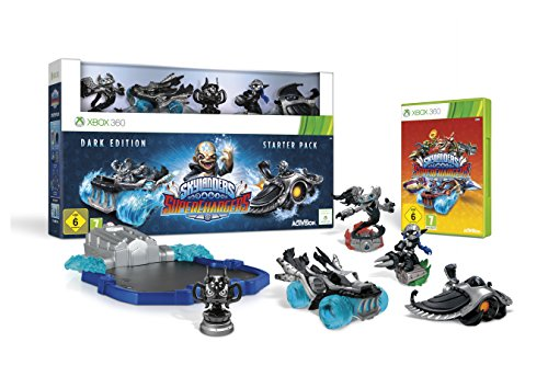Skylanders SuperChargers: Starter Pack - Dark Edition - [Xbox 360]