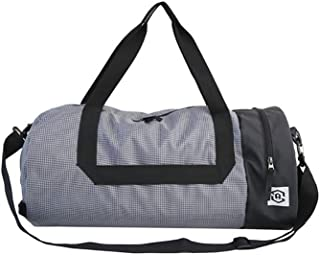 Cylindrical Gym Bag Travel Bag with Wet Dry Storage Shoes Compartment Waterproof & Durable for Men/Women Waterproof Travel Duffle Bag