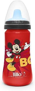 Copo Colors Disney com Bico em TPE Mickey, Lillo, Vermelho