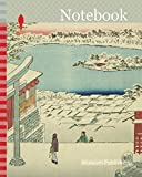 Notebook: Hilltop View from Yushima Tenjin Shrine (Yushima Tenjin sakaue tenbo), from the series One Hundred Famous Views of Edo (Meisho Edo hyakkei), ... 1797-1858, Japan, Color woodblock print