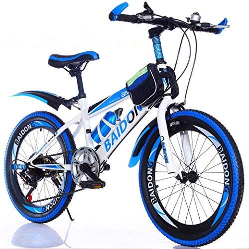 Children's Bicycle 22-inch met variabele snelheid mountainbike, comfortabel zadel, anti-slip pedaal, veilige en gevoelige Brake, Student Portable Bicycle