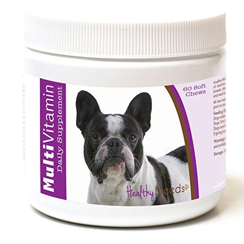 Healthy Breeds French Bulldog Multi-Vitamin Soft Chews 60 Count
