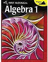 Holt McDougal Algebra 1: Student Edition 2012