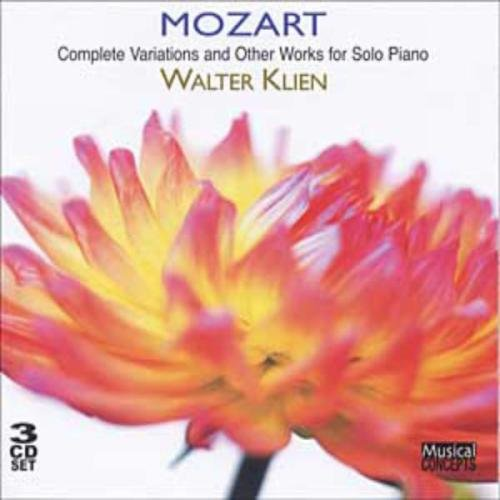 Mozart: Complete Variations and Other Works for Solo Piano (3 CD)