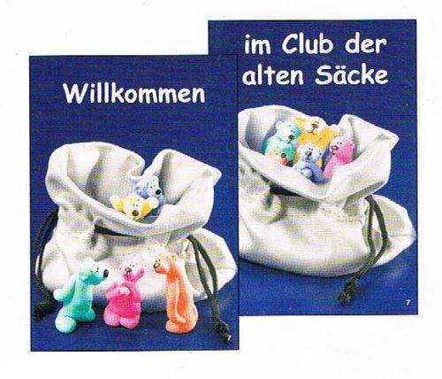 tatzino - Postkarte / Wackelbild - Nr. 7 - Bär - Willkommen - im Club der ...