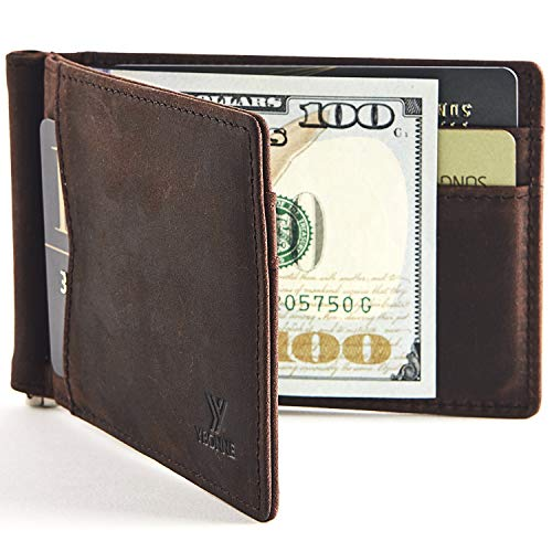 YBONNE Mens New Slim Wallet with Money...