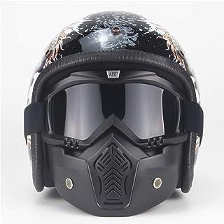 8f620c415e4 AA100 Casco de la Motocicleta de Casco de Harley, Cuatro Estaciones Hechas  a Mano Gafas