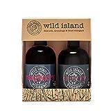 Wild Island - Vinagre de frutas con cerezo y frambuesa (2 x 250 ml)