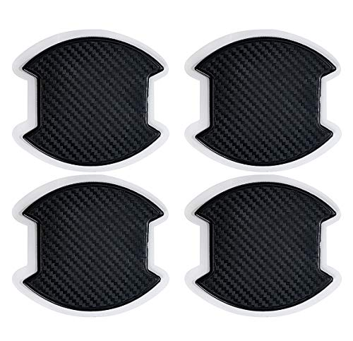 ドアハンドルプロテクター カバー 傷防止 ドアノブガード 保護 外装 カーボン シール Gany