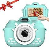 【2021最新版】子ども用デジタルカメラ キッズカメラ 子供カメラ3000万画素 1080P高画質 トイカメラ 32GBメモリーカード付き 連写/タイマー/録画/撮影/自撮り 操作簡単 おもちゃ 知育玩具 子供プレゼント 男女兼用 (ブルー)