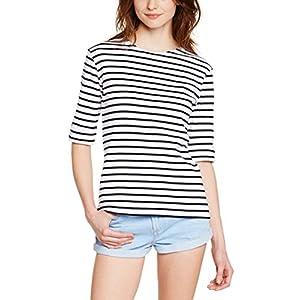 Armor Lux Damen T-Shirt 05409 Blanc