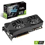 ASUS Dual NVIDIA GeForce RTX 2060 SUPER EVO V2 Advanced Edition, Scheda Video Gaming, 8 GB GDDR6 HDMI, DisplayPort, DVI-D, Ventole AxialTech, Tecnologia 0 dB, DirectCU II, Tecnologia Auto-Extreme