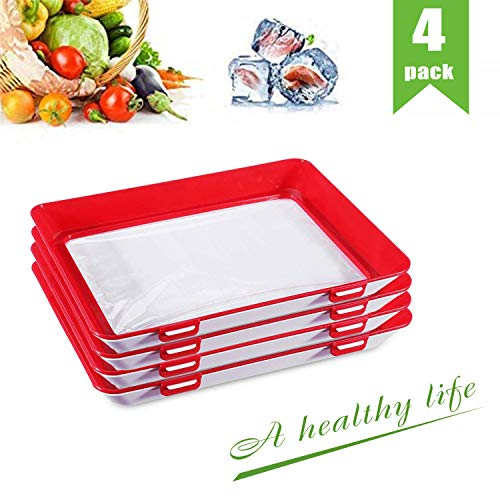 in budget affordable Plastic tin trays, stackable food trays, reusable creative tin trays …