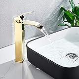 Onyzpily - Grifo para lavabo de baño con acabado...
