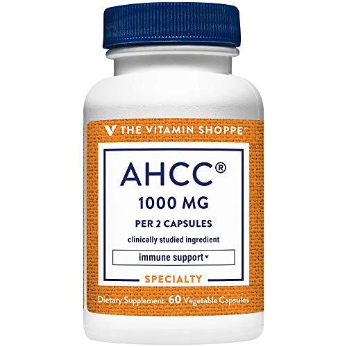 The Vitamin Shoppe AHCC 500 MG for Immune Support (60 Veggie Capsules)