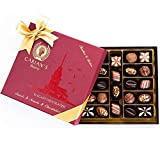 Bistro Chocolate Box Luxury Selection - Gourmet Truffles - Natural and Healthy Snacks Pack...