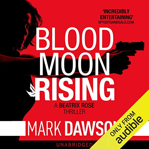 Blood Moon Rising audiobook cover art