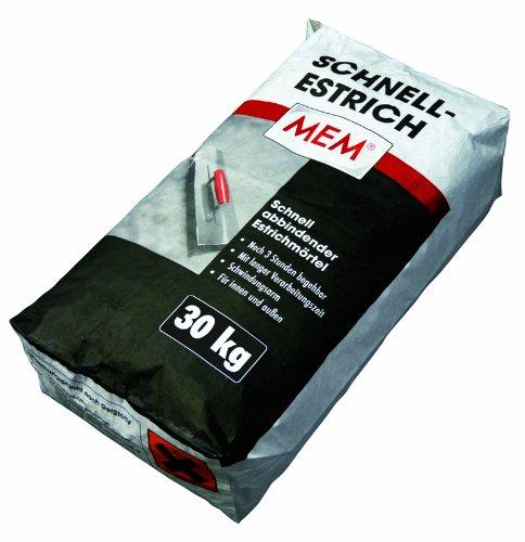MEM Schnell-Estrich 30 kg - Schnell abbindender, schwindungsarmer Estr