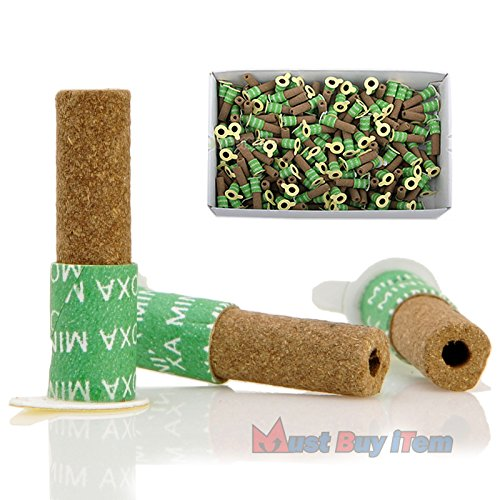 Korea Acupuncture 100% Wormwood Mugwort Moxibustion Mini Moxa Sticks On Cone Roll 1Box 180pcs Weak