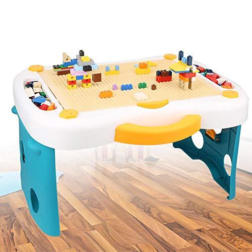 Kinder Bausteine Ziegel Spielzeug lernen und Spiel Multi-Aktivitätstabelle Geeignet für LE-GO(Basic models)
