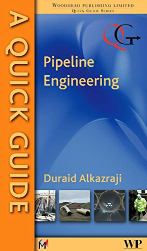 A Quick Guide to Pipeline Engineering (Quick Guides (Woodhead Publishing)) download ebooks PDF Books