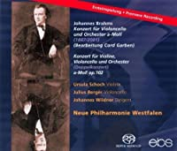 Doppelkonzert Op. 102/Cellokon by BRAHMSJ.