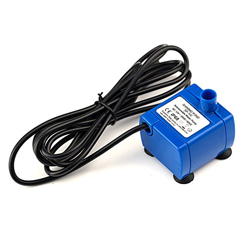 Uniclife Replacement Pump for Pet Water Fountain Safe 12V Water Pump with 110V Converter