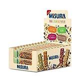 Misura Snack Cereali Natura Ricca   Barrette Cereali, Semi di Zucca, Mandorle e Baobab   Confezione da 375g