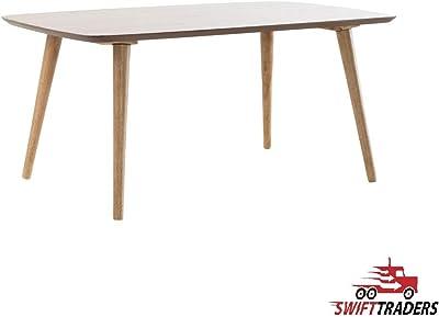 reputable site 03cae cd8b6 Amazon.com: Convenience Concepts Oslo Coffee Table, White ...