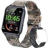 Dwfit Smartwatch Orologio Fitness Tracker Uomo Donna, Impermeabile Smart Watch Cardiofrequenzimetro da...