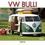 VW Bulli 2020: Broschürenkalender mit Ferienterminen. Wandkalender als Hommage. 30 x 30 cm - Korsch Verlag