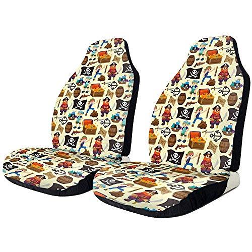 TABUE 2 stuks stoelhoezen voor auto's, limousines, vrachtwagens en SUV's.