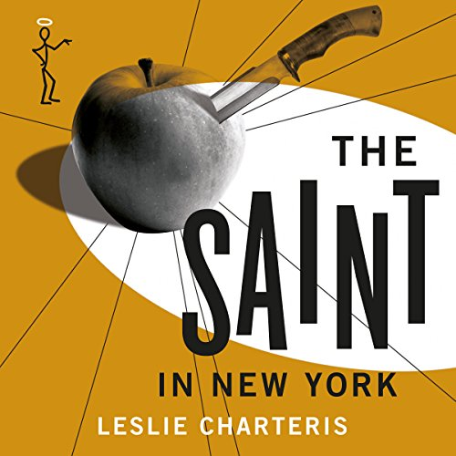 The Saint in New York audiobook cover art