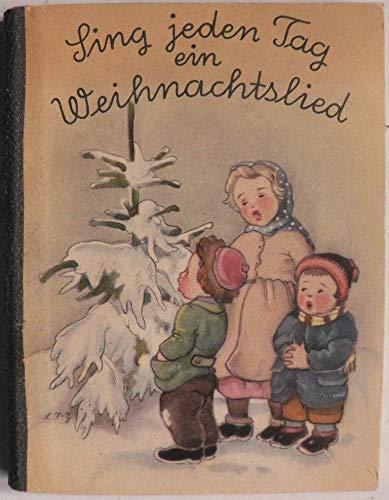 Sing jeden Tag ein Weihnachtslied. Ein Adventskalender mit 20 Bildkarten