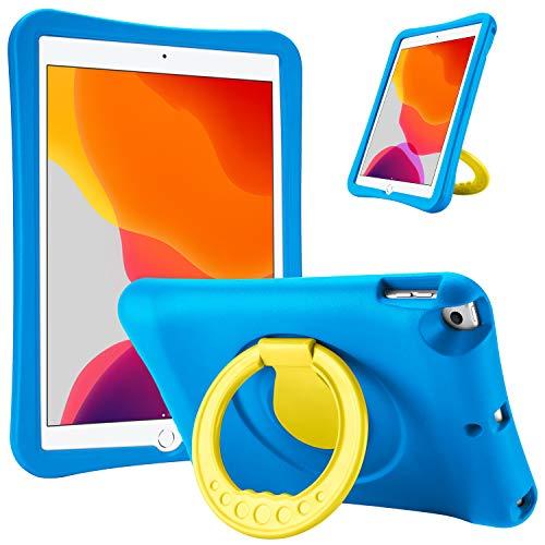 ProCase Funda Infantil iPad 10.2 2019/ iPad Pro 10.5/ iPad Air 3 10.5, Carcasa Niño Antigolpes con Asa Convertible Tapa de Soporte para iPad 10.2