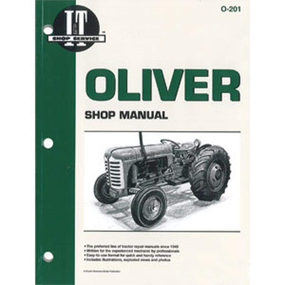 SMO201 cheap New Tractor Shop Manual Cockshutt Translated for 55 Oliver