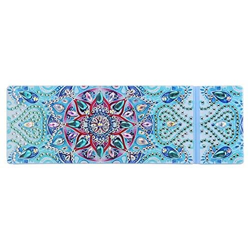 SYIELECT DIY Mandala Special Shaped Diamond Painting 2 Gitter Bleistift Aufbewahrungsbox Geschenk