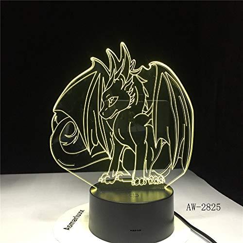 Pokemon Spiel Eevee Family Series Cartoon Beliebte neue 2825 Nachtlicht 3D LED Tischlampe Kinder Geburtstagsgeschenk Nachtzimmer Dekoration